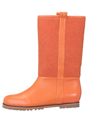 flip flop Botas Alineadas Napa Ritni (naranja)
