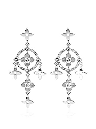 CHAMAY Pendientes Silver Toned