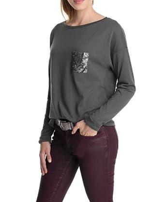 ESPRIT Camiseta Caterina (Gris)