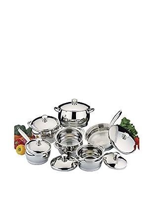 BergHOFF Cosmo 12-Piece Cookware Set with Bonus 8-Piece Silicone Utensil Set