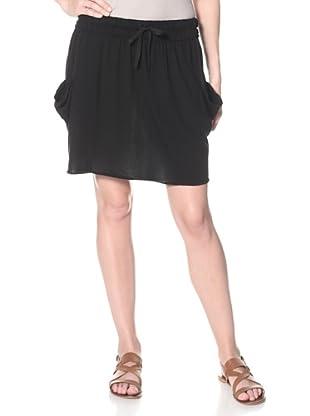SKIN Women's Cargo Skirt (Black)