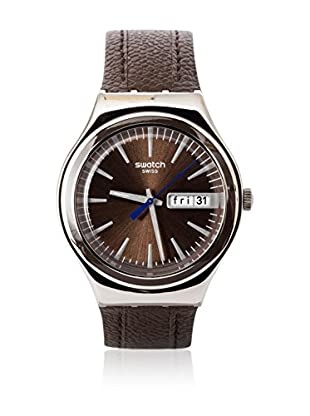Swatch Quarzuhr Man BROWN SUIT YGS748 38.0 mm