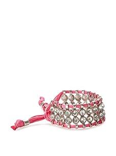 Rolf Bleu Montana Bold Adjustable Bracelet (Neon Pink)