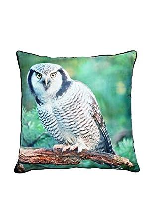 Torre & Tagus Owl Printed Photo Cushion