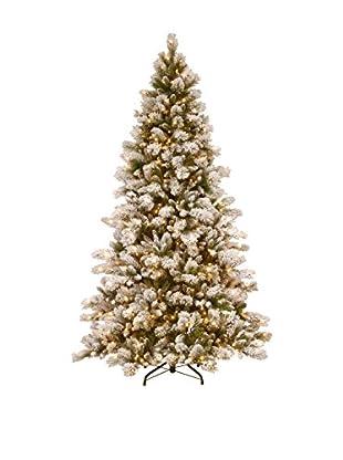 National Tree Company 7.5' Snowy Westwood Pine Hinged Tree