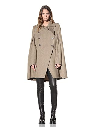 Ann Demeulemeester Women's Cape with Removable Sleeves (Rope)