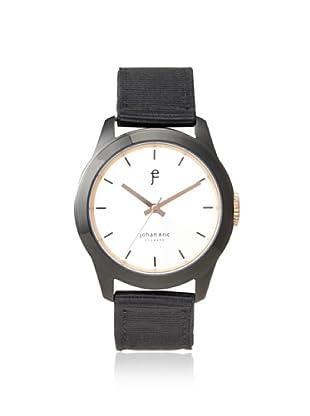 Johan Eric Men's JE1400-13-001.16 Naestved Black/Silver Canvas Watch