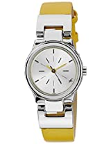 Fastrack Analog Silver Dial Women's Watch - 6114SL02