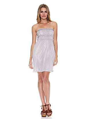 Monoplaza Vestido Crosby Corto (Gris)