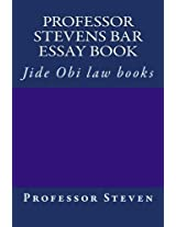 Professor Stevens Bar Essay Book: Jide Obi Law Books