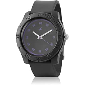 Fastrack Tees Analog Black Dial Unisex Watch - ND3062PP22