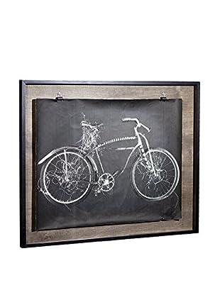 Chris Dunker for Phylum Design Bike Green, Photograph in Floating Frame