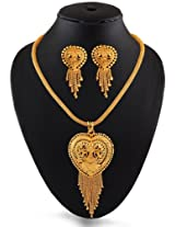 Exclusive Designer 1 Gm Gold Plated Pendent Set