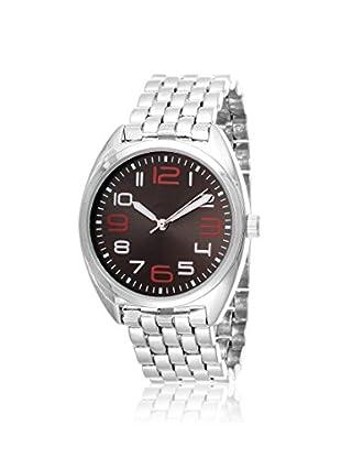 FORTUNE Women's NWY391290BK Silver-Tone/Black Stainless Steel Watch