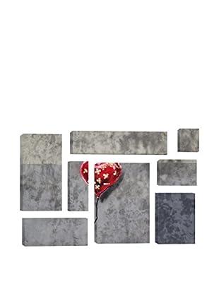 Banksy Bandage Heart (Full) 8-Piece Giclée On Canvas