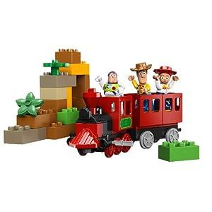 レゴデュプロからトイストーリーシリーズ・。列車追跡