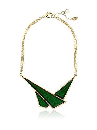 Amrita Singh Collar Geo Triangle Bib