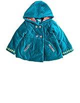 Aqua Blue Winter Jacket