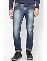 Blue Narrow Fit Jeans