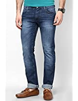 Blue Slim Fit Jeans (Powell) Lee