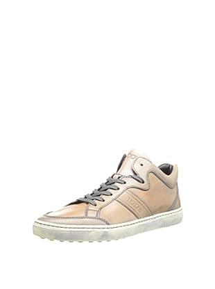 Tod's Men's Mid-Top Sneaker (Grey Brown)