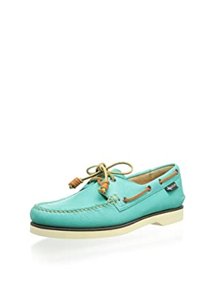 Eastland Men's Washburn 1955 2-Eye Boat Shoe (Teal)