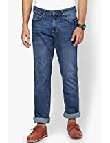Dark Blue Slim Fit Jeans (millard) Wrangler