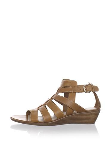 Geox Women's Donna Kalima Gladiator Sandal (Cigar)