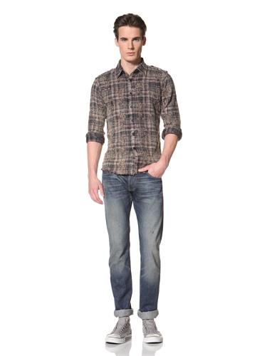 Artisan De Luxe Men's The Gary Button-Up Shirt (Hippie Plaid)