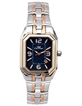Ciemme's Luxury Navy Blue Dial Stainless Steel Rose Gold Swiss Quartz Movement Women Watch ( CTW004MRSLBE1R2T )