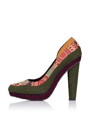 Desigual Zapatos de Tacón (Naranja)