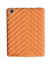 Gumdrop Cases Drop Tech Series Case for Apple iPad 4, iPad 3 and iPad 2, Designer Series - Orange/Blue (DS-IPAD3-ORN-BLU)