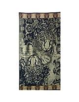 Luxury Oversized Beach Towels, Wild Tiger, 100 Egyptian Cotton
