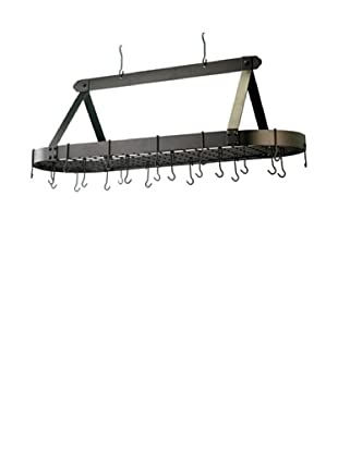 Old Dutch International 24-Hook Oval Pot Rack (Oiled Bronze)