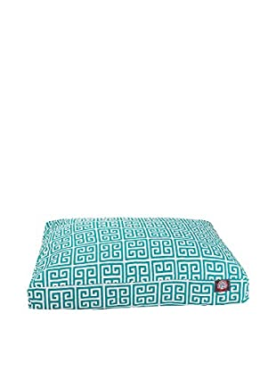 Towers Small Rectangle Pet Bed, Pacific