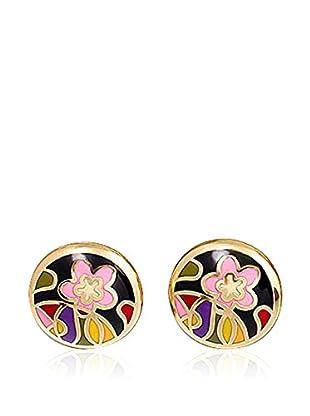 ROSE SALOME JEWELS Ohrringe GE015L vergoldeter Stahl 18 Karat
