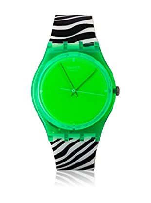 Swatch Quarzuhr Unisex Unisex GREEN ZEB GG210 34.0 mm