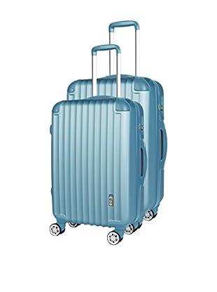 COMPAGNIE DU BAGAGE Set de 2 trolleys rígidos