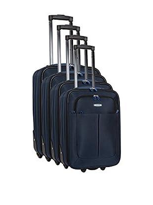 COMPAGNIE DU BAGAGE Set de 4 trolleys semirrígidos