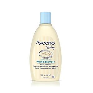 Aveeno Baby Wash and Shampoo Lightly Scented (12 fl oz)