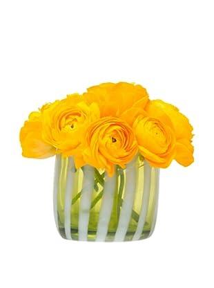 Chive Mint Stripes Vase