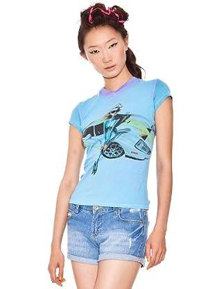 Custo T-Shirt (Blau)
