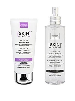 Skinlabo Gesichtspflege Kit 2 tlg. Set Warm Sand Medium/Light 30+200 ml
