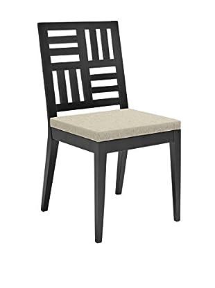 Domitalia Petaluma Chair, Black Lacquered