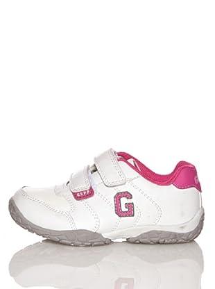 Gioseppo Zapatillas Casual Juami (Blanco / Rosa)