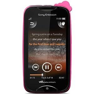 Sony Ericsson Mix Walkman WT13i (Black-Green)