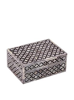 Purva Cut Alhambra Box, Grey
