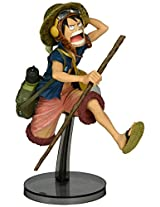 Banpresto One Piece 6.3-Inch Luffy Figure, SCulture Big Zoukeio 4 Volume 1