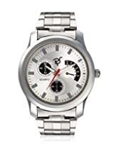 RICO SORDI Mens White Steel Watch_RSMW_S6