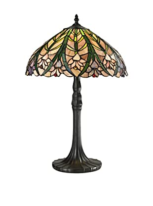 Dale Tiffany Cactus Bloom Tiffany Table Lamp